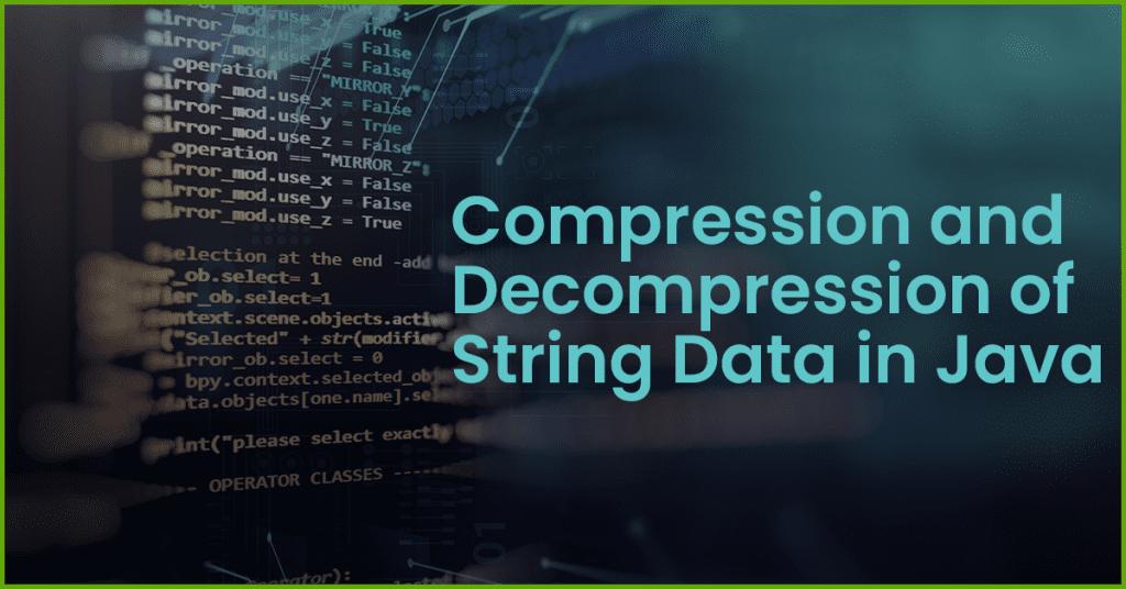 string compression java